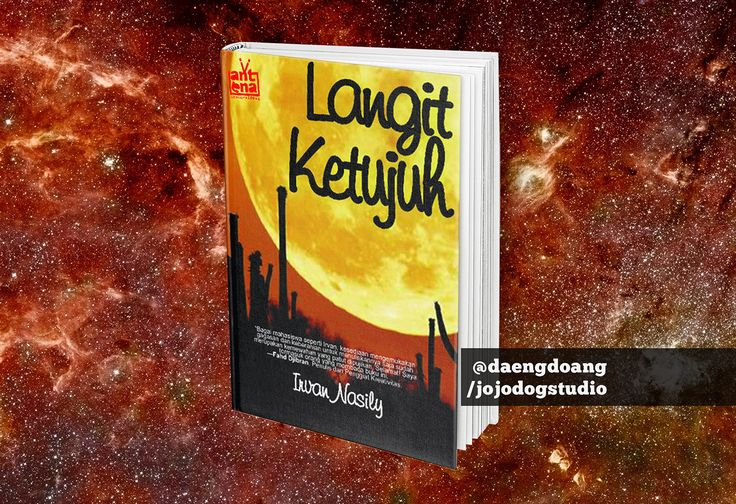 Langit Ketujuh Book Cover on Behance