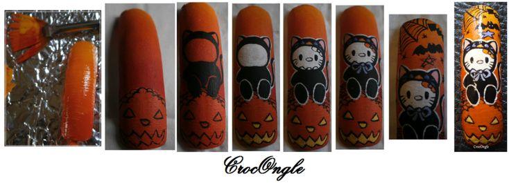 Capsule Hello Kitty spécial Halloween + Tuto