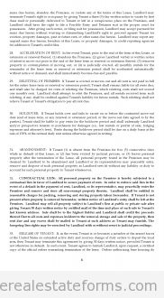 Free Lease Agreement Printable Real Estate Forms