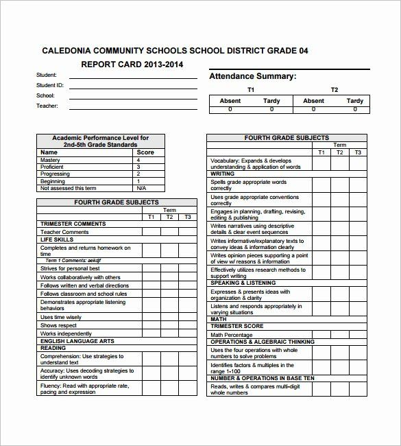Preschool Progress Report Template Inspirational 26 Progress Report Card Templates Google Doc Report Card Template School Report Card Kindergarten Report Cards