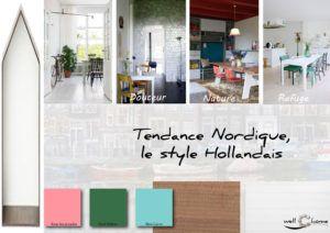 Moodboard - Déco, planche d'ambiance, tendance nordique, style hollandais, réalisation well-c-home