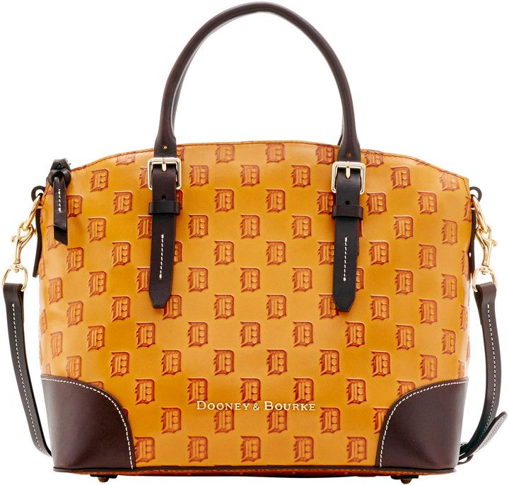 Dooney & Bourke MLB Tigers Domed Satchel