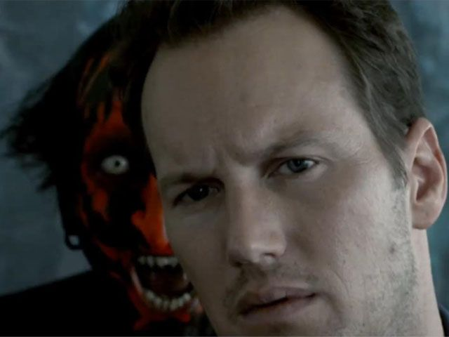 This scene scared the crud out of me thats for sure, have to admit that demon is freaky looking. BUT i love me some Insidious!