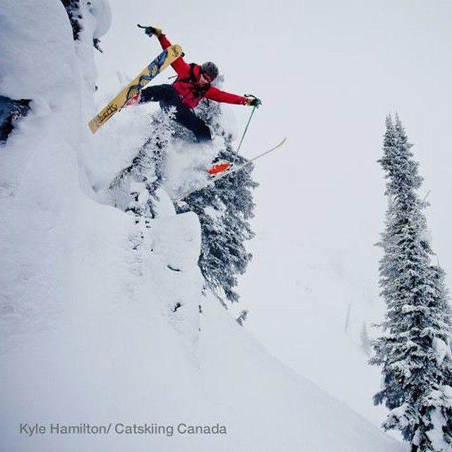 Fly like an eagle at @bigredcats #Catskiing  @khphotography #catskiingcanada #skiing #ski #backcountryskiing #rossland #bc #backcountry #canada