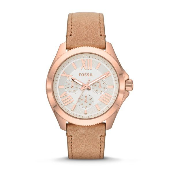 Fossil rose gold toned Cecile women's watch available at #savoysjewellers