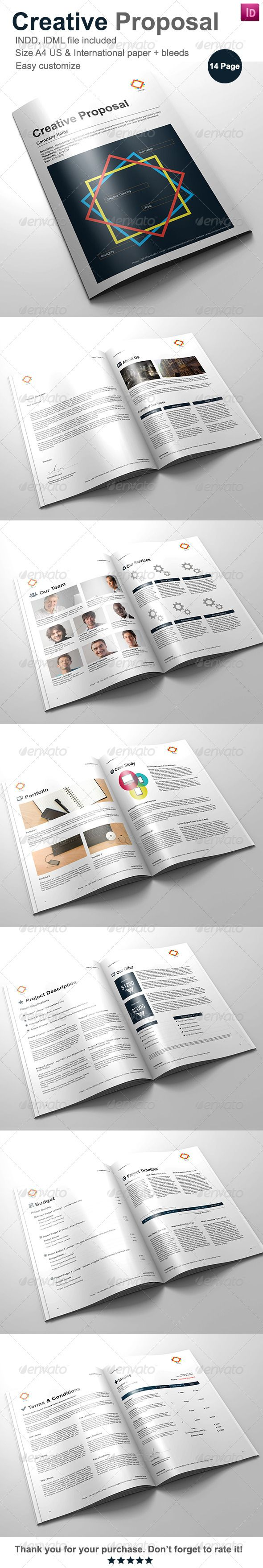 Commercial Proposal Format Simple 504 Best Business Proposal Images On Pinterest  Proposal Templates .