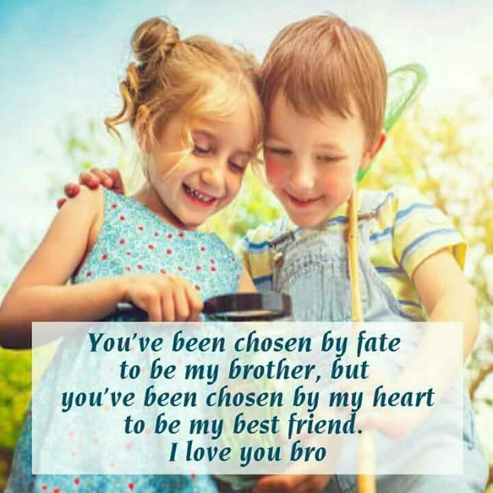 You are the most loyal, dependable, and honest person I've ever known. I am happy to call you my brother. :) Tag-mention-share with your Brother and Sister 💜💚💛👍