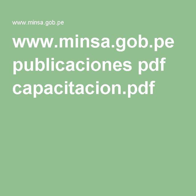 www.minsa.gob.pe publicaciones pdf capacitacion.pdf