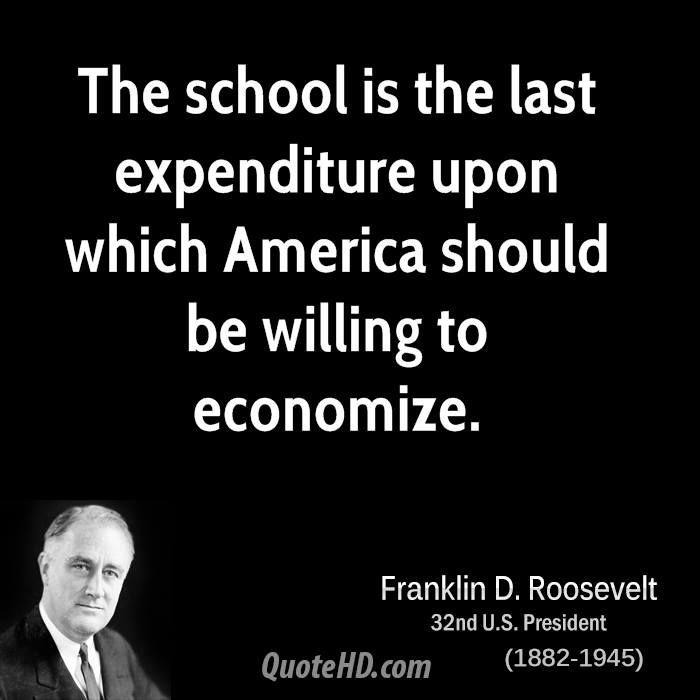 ~ Franklin D. Roosevelt
