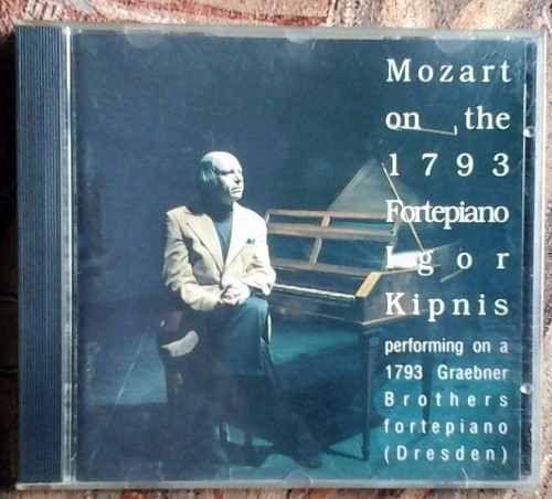 Cd: #Mozart On The 1793 Fortepiano / Igor Kipnis $100