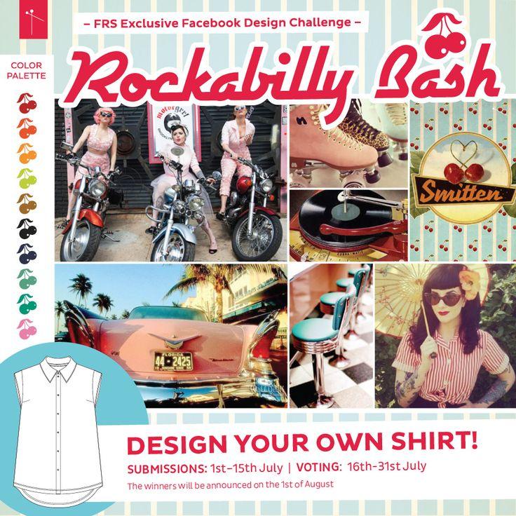 Rockabilly Bash Design Challenge