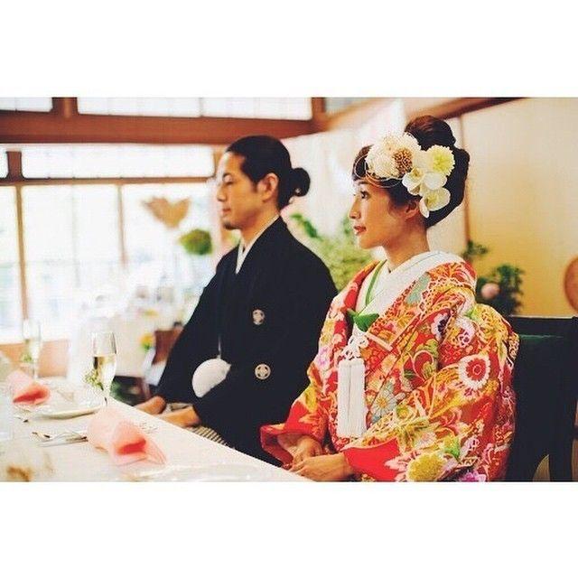 和装ヘアに♡元お花屋さんが作る「soypowa」のお花いっぱい花飾り*にて紹介している画像
