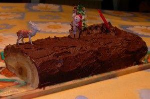 BUCHE DE NOEL chocolat vanille poire sans PLV
