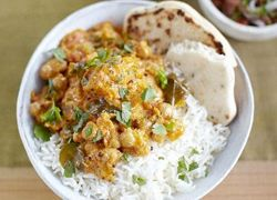 Pumpkin, Chickpea & Coconut Curry recipe from Jamie Oliver - Meat Free Monday :)
