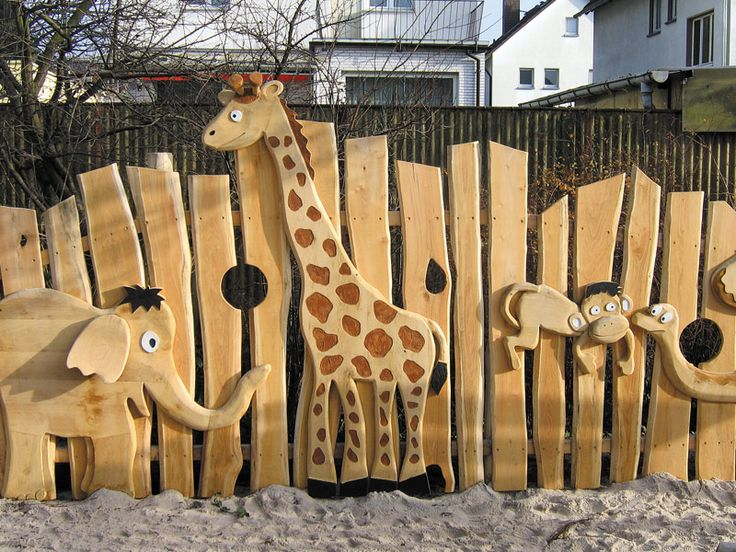 Timber Play Equipment by Spielart.