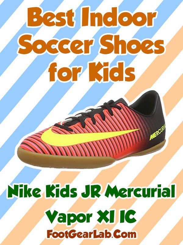 Nike Kids JR Mercurial Vapor XI IC - Best Indoor Soccer Shoes for Kids - @footgearlab