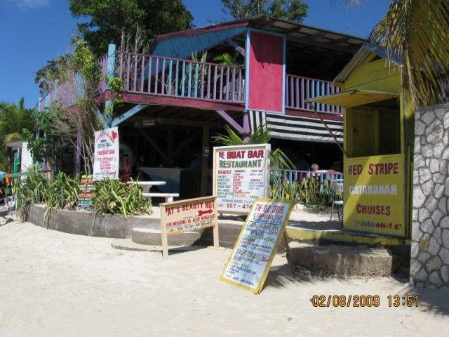 mary's baot bar restaurant negril jamaica