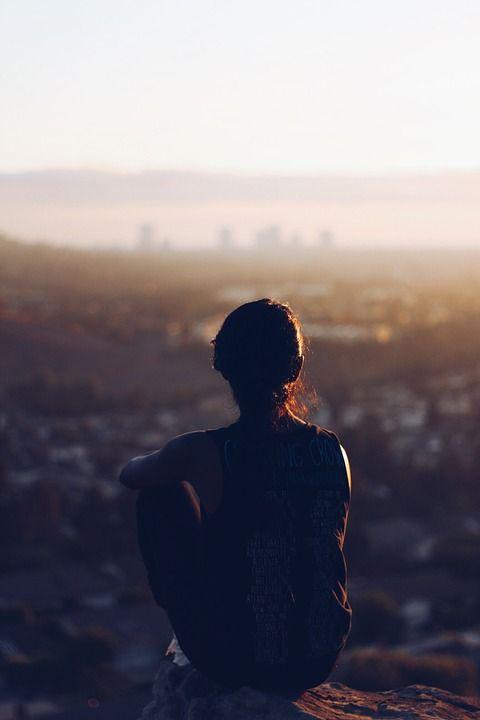휴식, 혼자, 명상, 사람, 젊은, 하나, 여자, 사람들, 여성, 소녀, 라이프 스타일, 자연
