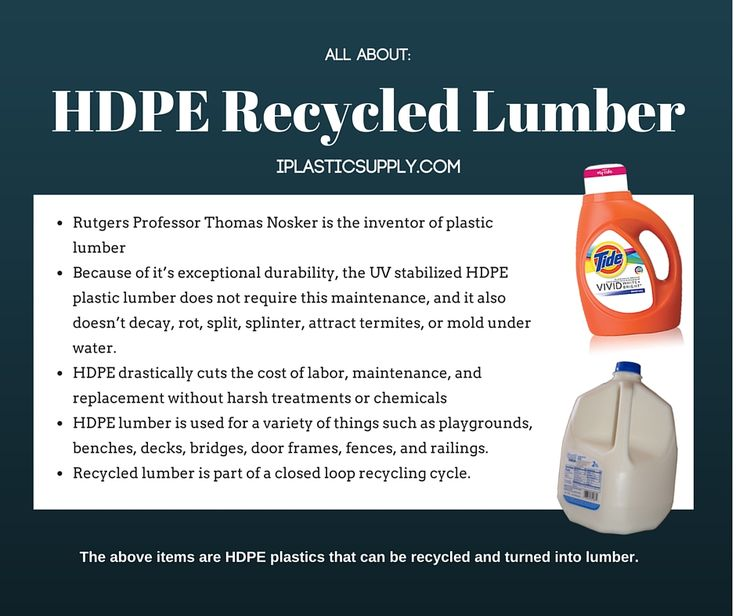 Recycled Plastic Lumber has Extreme UV Resistance | | The Plastic Mentor