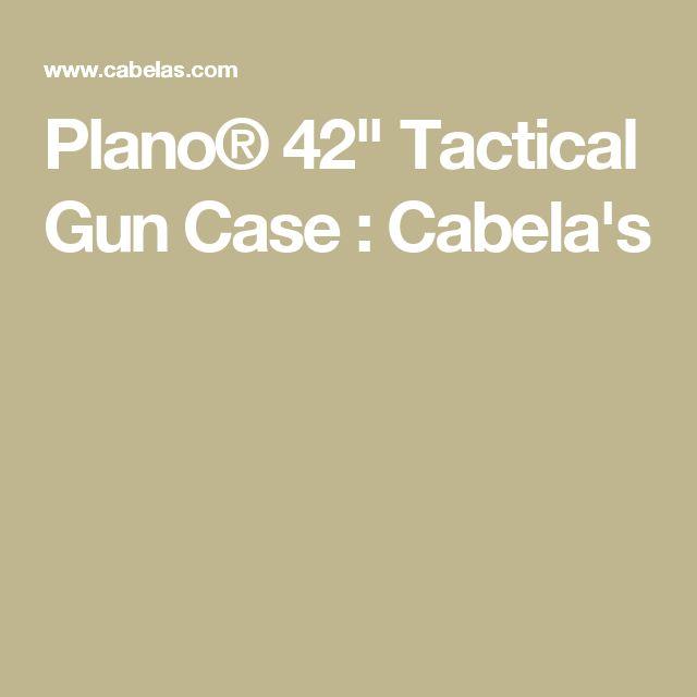 """Plano® 42"""" Tactical Gun Case : Cabela's"""