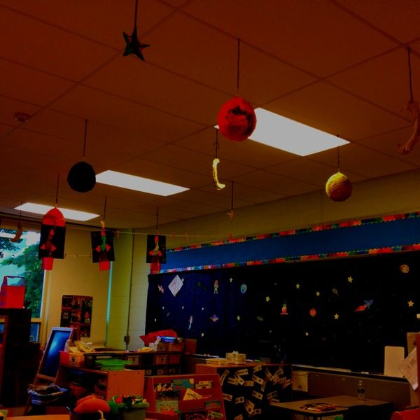 9 best pre k classroom handbook images on pinterest - Outer space classroom decorations ...