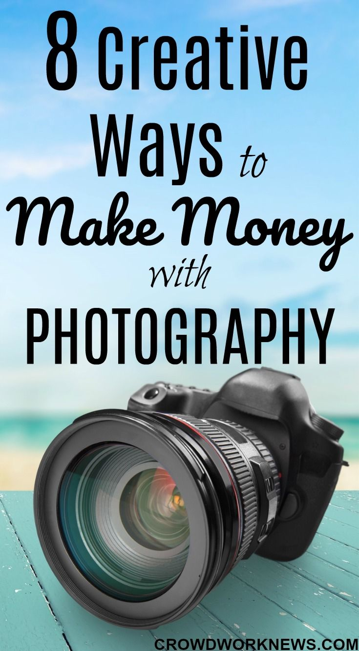 8 Creative Ways to Make Money from Photography – Gina Jasmine