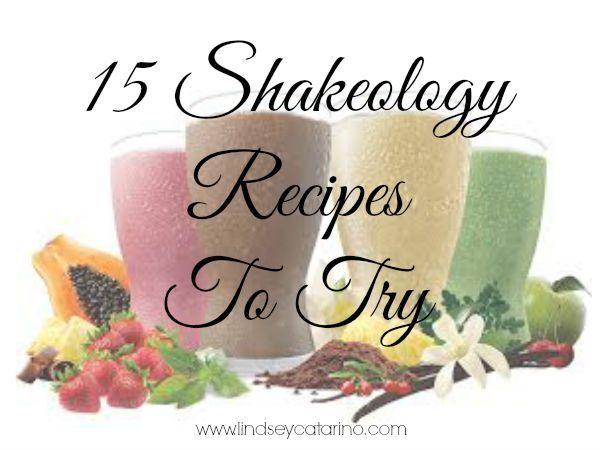 15 Shakeology Recipes to Try