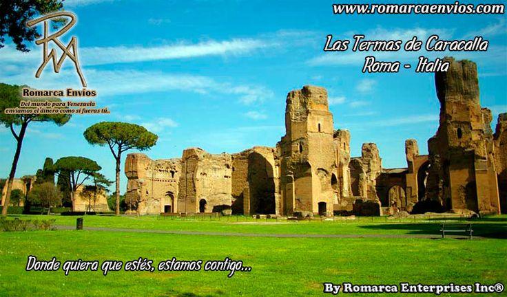 Las termas de Caracalla, o termas Antoninas, fueron unos baños públicos de la Roma imperial. Se construyeron entre 212 y 217 d. C., bajo el gobierno del emperador Caracalla. Se inauguraron con el nombre de Termas Antoninas. Actualmente, las extensas ruinas de estas termas son una atracción turística importante.
