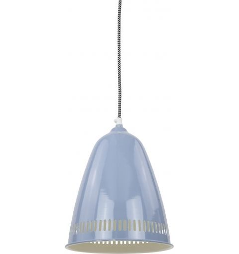 Hindas Iron Pendant Light, Blue