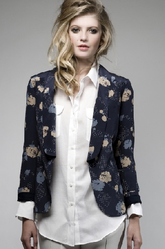 Great jacket by NZ designer Juliette Hogan #fashion #jacket #style