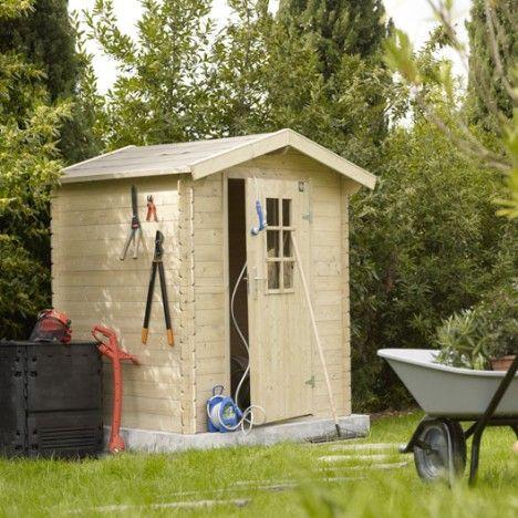 Abri de jardin en bois naterial anttola p 19mm - Retrete leroy merlin ...
