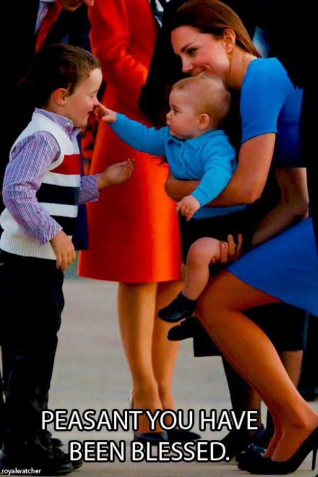 Love snooty Prince George!