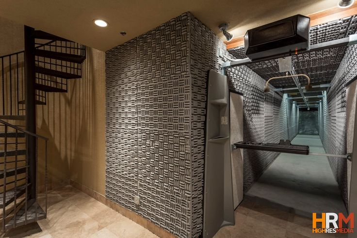 How many properties have one of these? It's own indoor shooting range! Placed inside Arizona's most expensive home listed at $32 million.