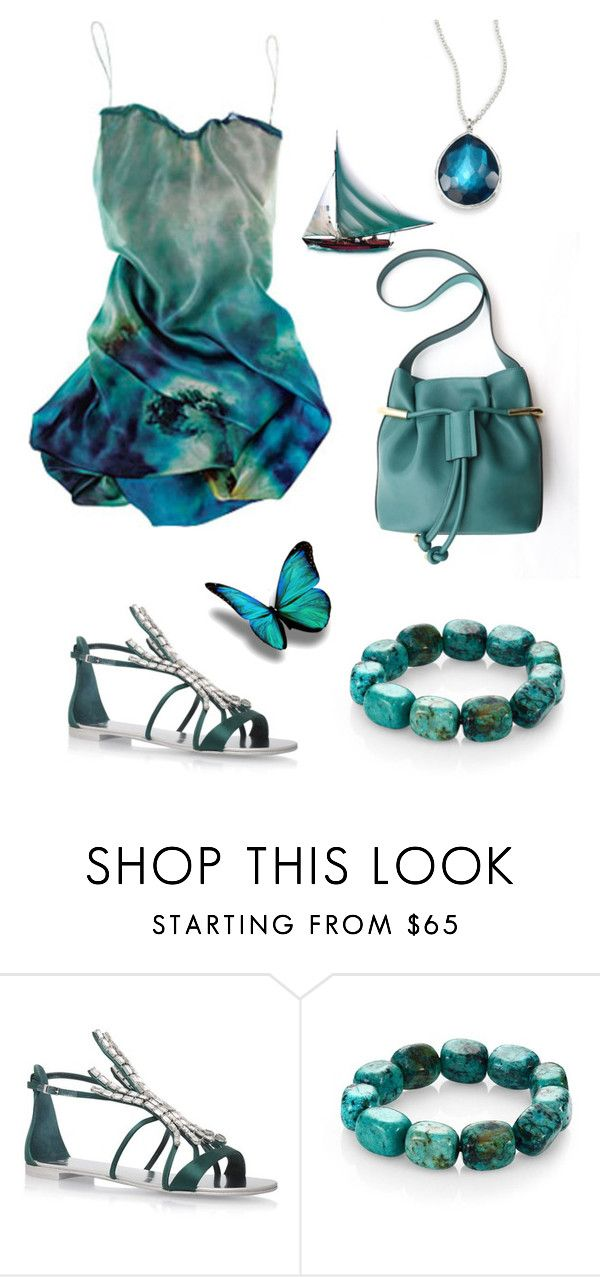 """""""Untitled #564"""" by sensual-spirit on Polyvore featuring Giuseppe Zanotti, Nest and Ippolita"""