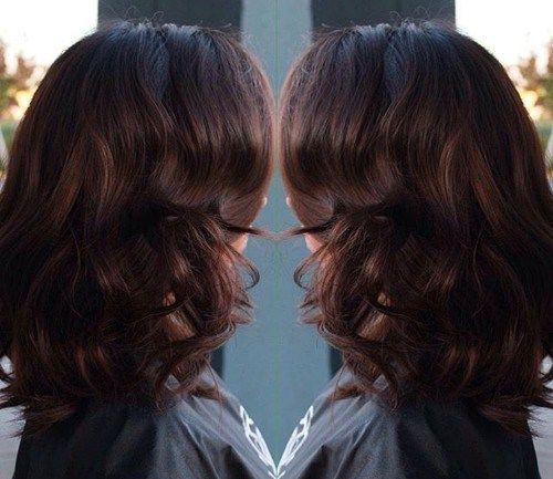 Rock 20 amazing brunette & brown hairstyles this year