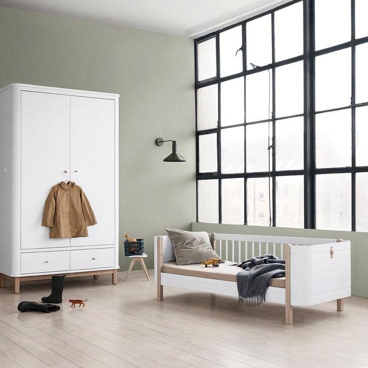 Oliver Furniture Babybett Und Kinderbett Wood Mini Weiss Eiche