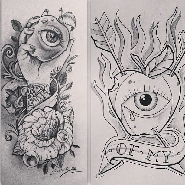Drawing by Johnny Smith Apple drawing Apple of my eye Diamond drawing Arrow drawing Rose drawing Tattoo drawing
