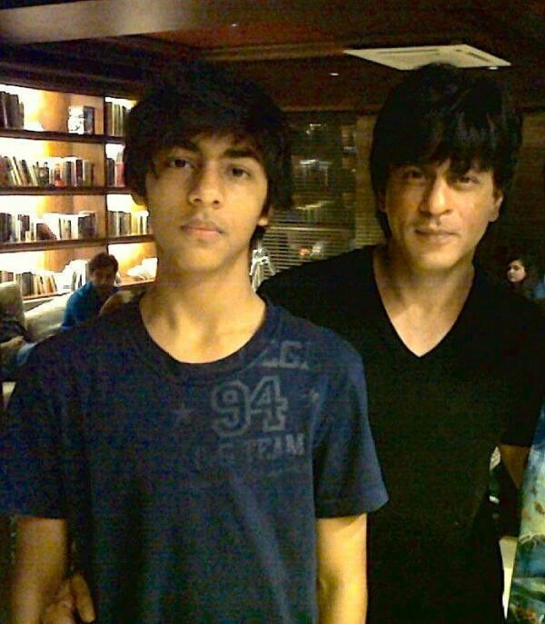 SRK and his eldest son Aryan