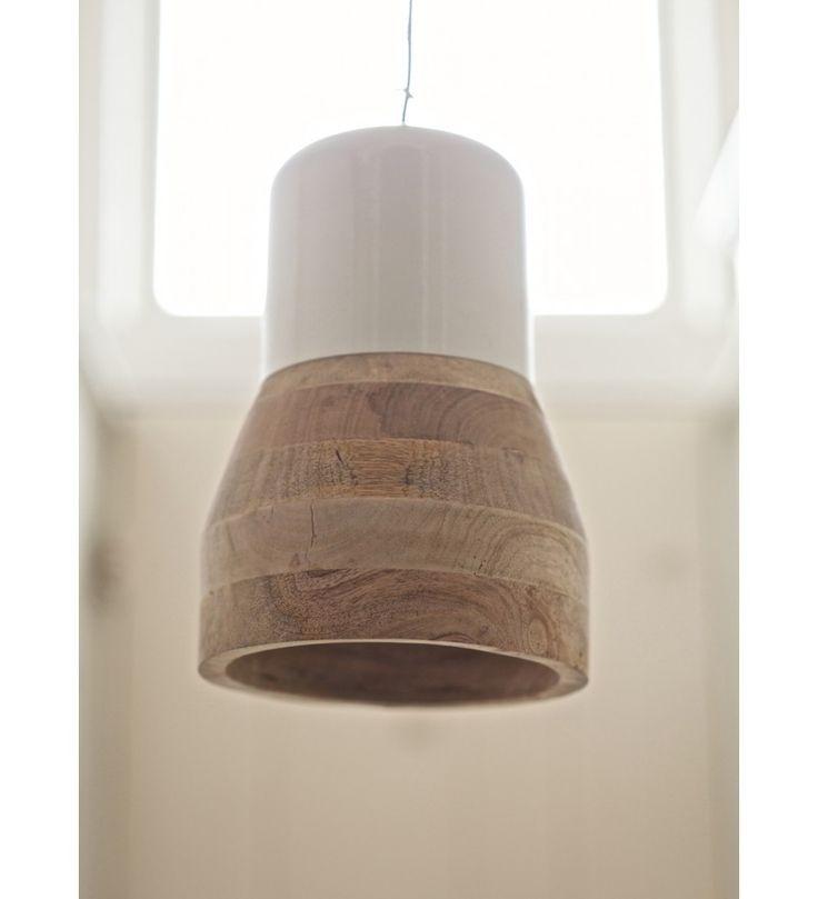 Lampa wisząca BIG / MID BLEND Be Pure - czerń / biel