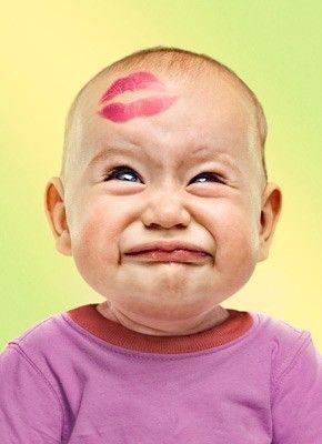 Poor baby #SMOOCH #CUTEBABY