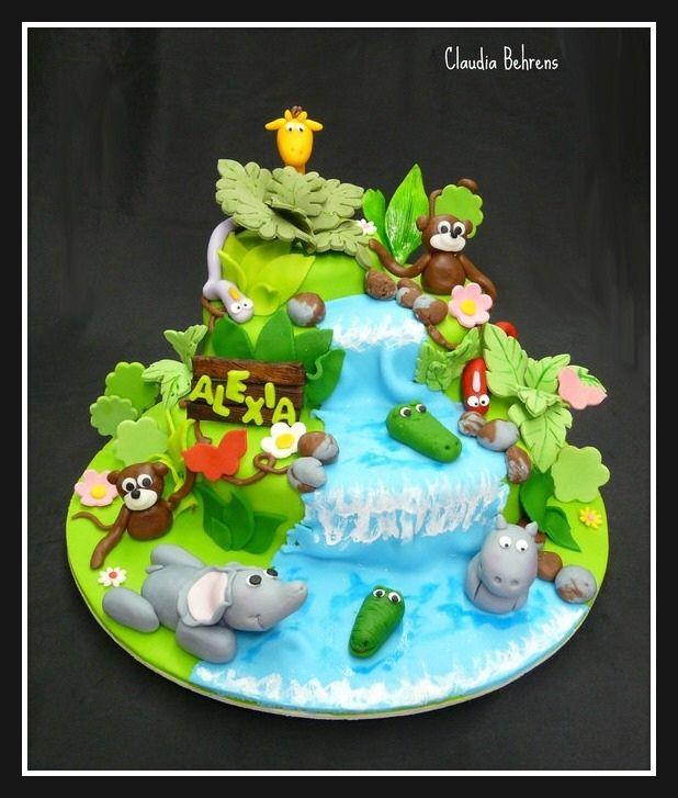 jungle cake alexa - claudia behrens