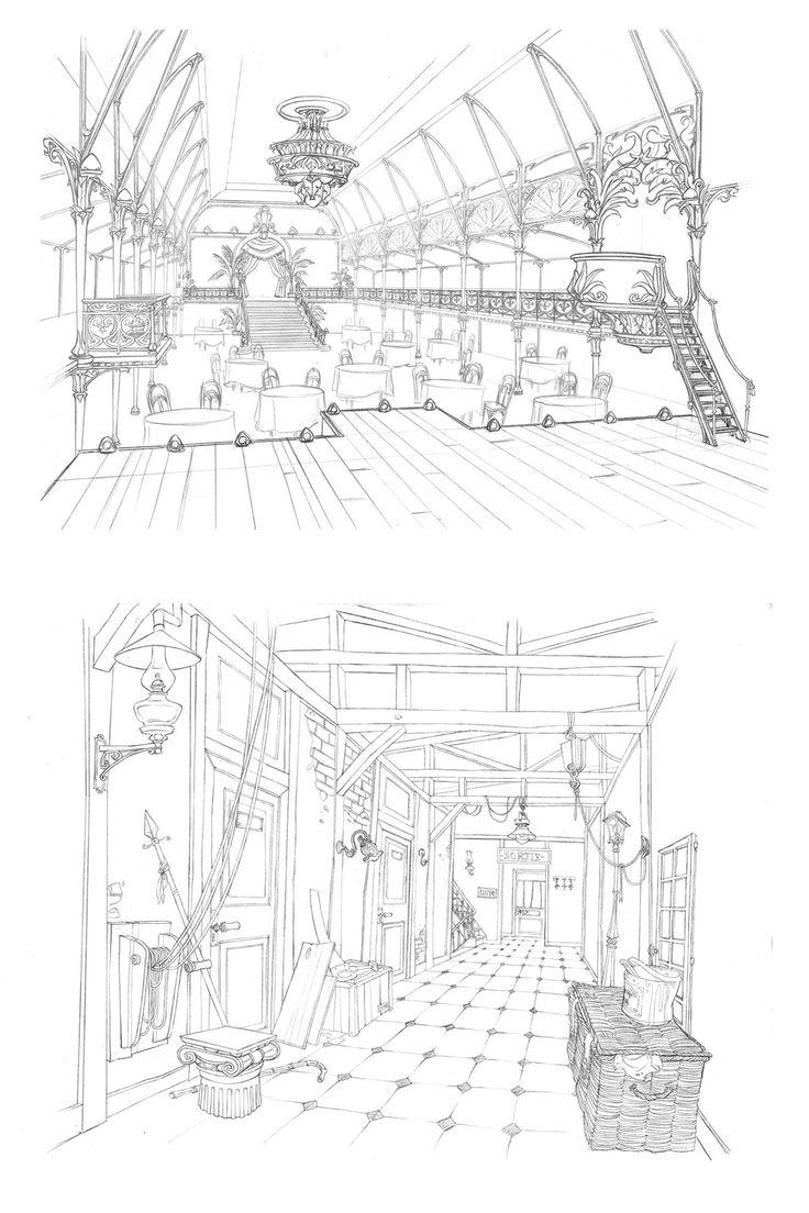 Incríveis desenhos de Paul Mager para o filme Um Monstro em Paris | THECAB - The Concept Art Blog