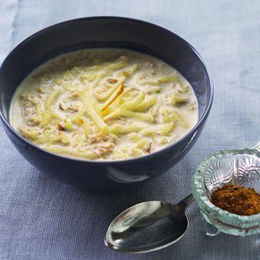 Wärmender Apfel-Zimt-Porridge