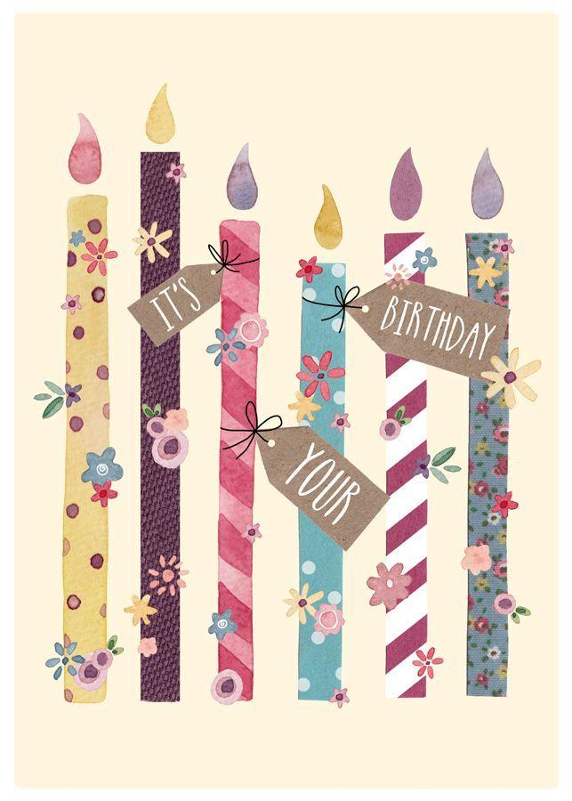 Velas de cumpleaños - It's Your Birthday
