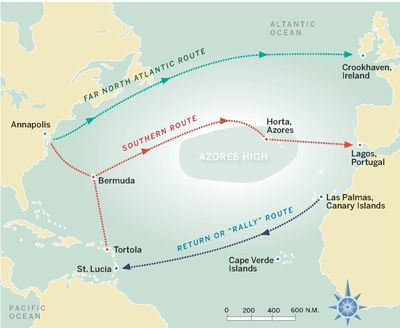 How to Complete an Atlantic Circuit in One Year | Sail Magazine