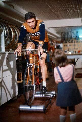 Merckx - looking Pro even on the rollers