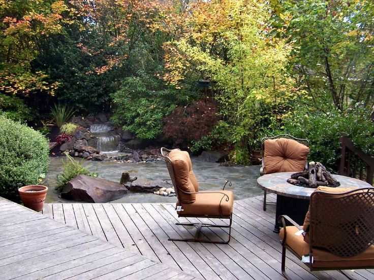 Patio Waterfalls | Flagstone Patio And Waterfall Combo(Click On Image To  Enlarge)