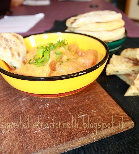 pollo al curry con latte di cocco e yogurt