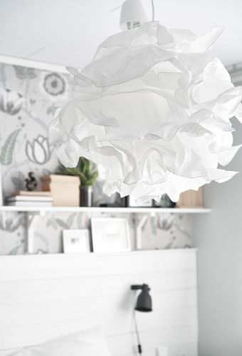 Decorate with lampshades that look like clouds, so you can pretend you're dozing directly beneath the sky! #IKEAIDEAS