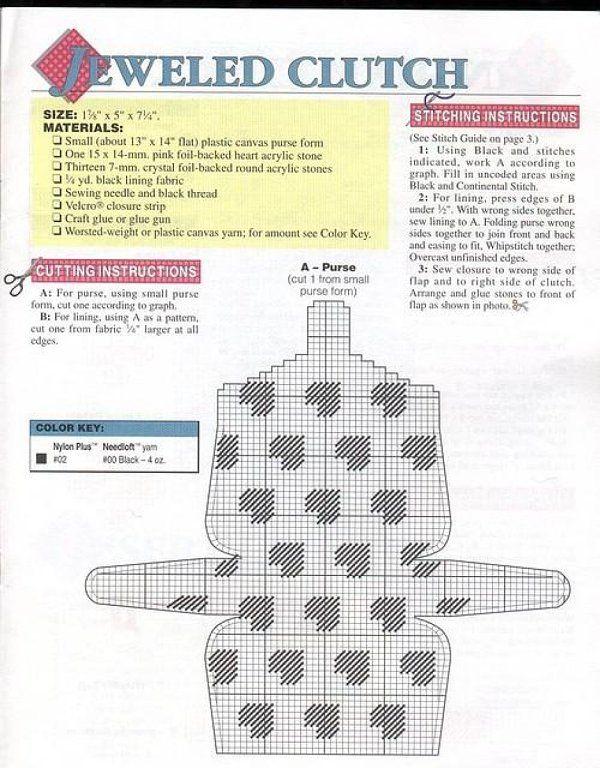 PLASTIC CANVAS (pág. 39)   Aprender manualidades es facilisimo.com